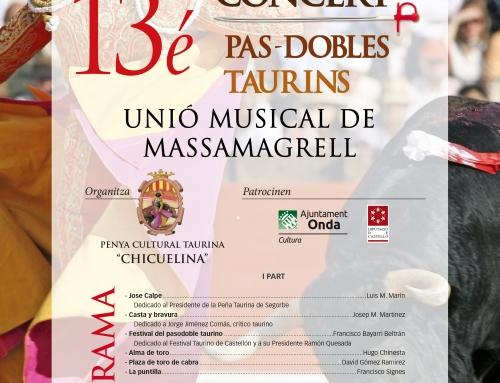 Concierto de la Unió Musical de Massamagrell en Onda